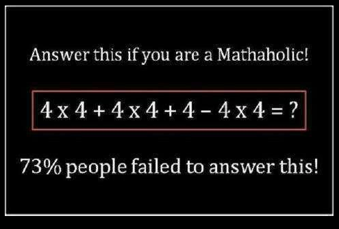 math problems answers