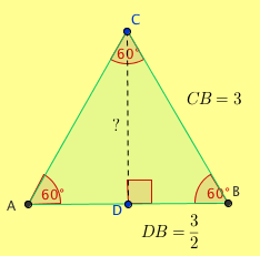 Area Of An Equilateral Triangle K 12 Math Problems