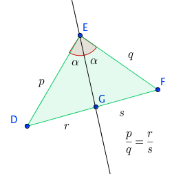 angles and proportional sides