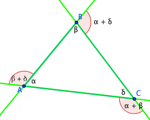 Exterior Angle In Triangles