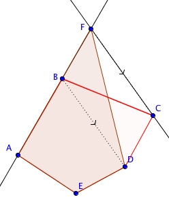 area with same shapes