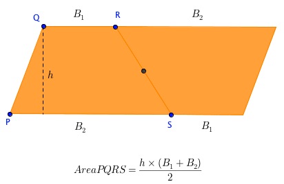 area of trapezoid